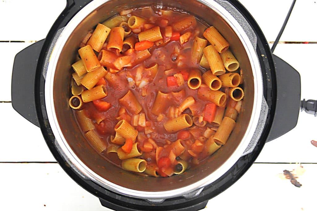 Ingredients for Instant Pot Pasta