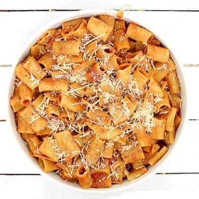 creamy ziti instant pot pasta