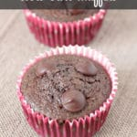 Double chocolate chip low carb Muffins