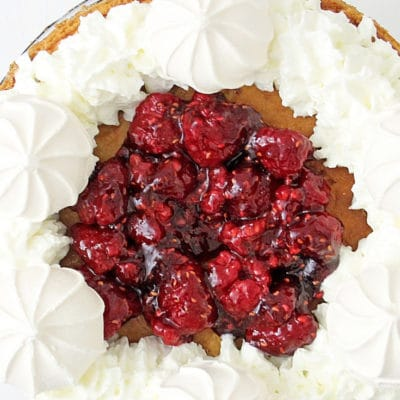 Instant Pot Raspberry Cheesecake