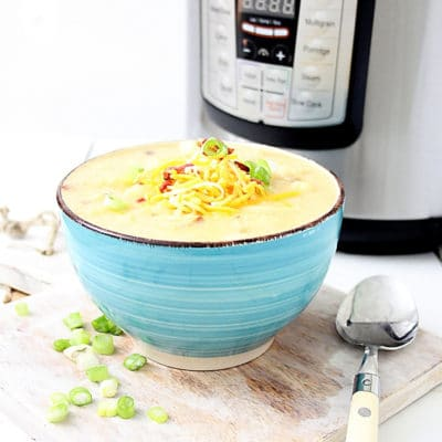 loaded Instant Pot Potato Soup