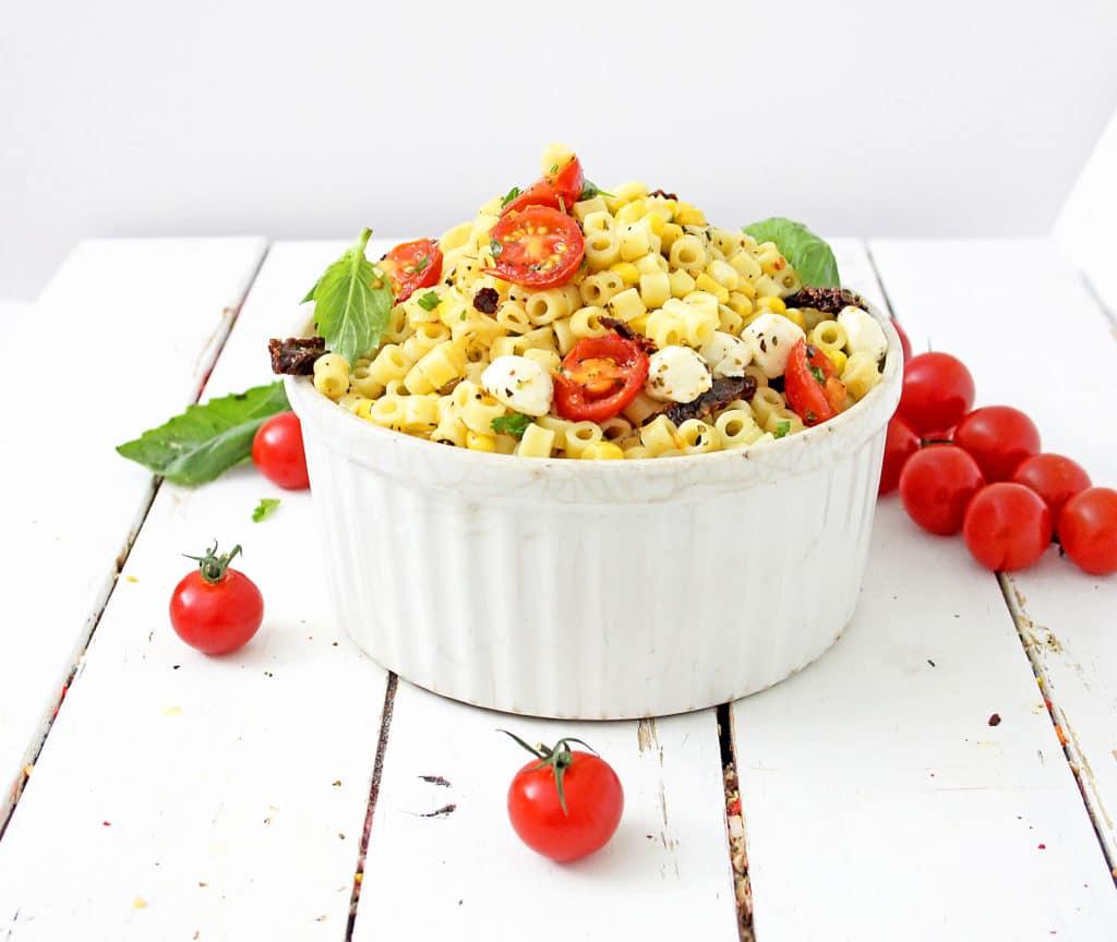 Roasted Tomato Pasta Recipe with Fresh Mozzarella