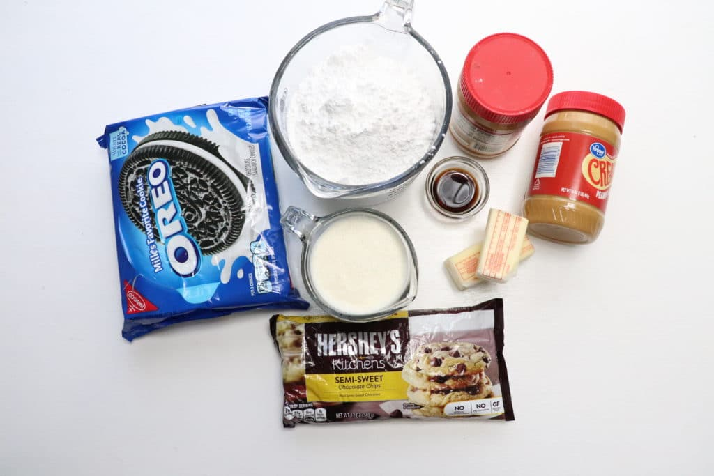 ingredients for peanut butter pie