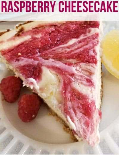 raspberry cheesecake featured image