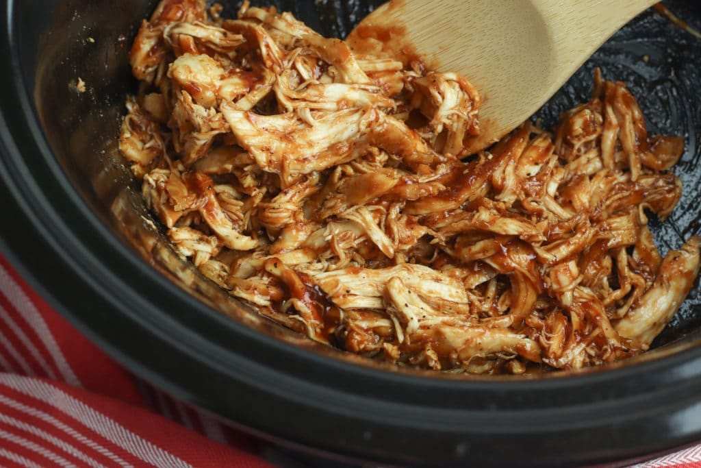 Barbecue Chicken in the slow cooker