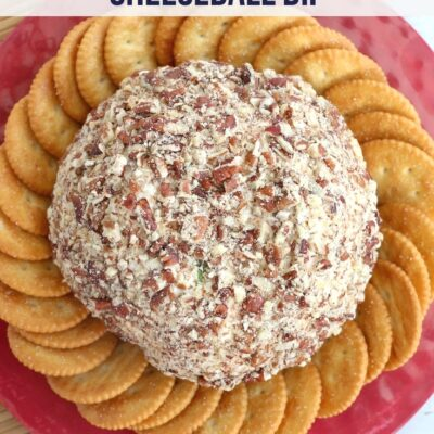 chicken bacon ranch cheeseball