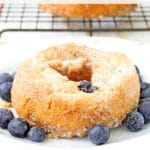 Blueberry Baked Donuts Recipe