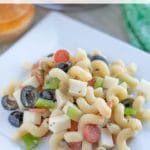 Supreme Pizza Cold Pasta Salad Recipe
