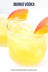easy mango vodka cocktail