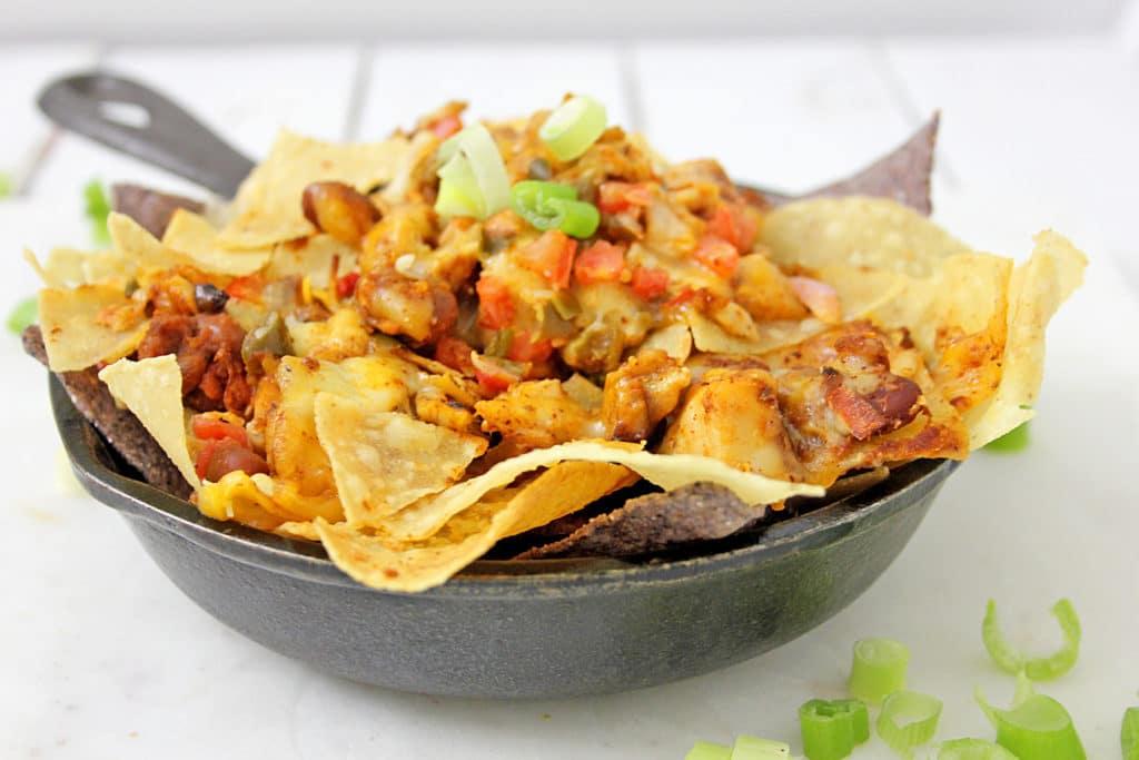 skillet nachos