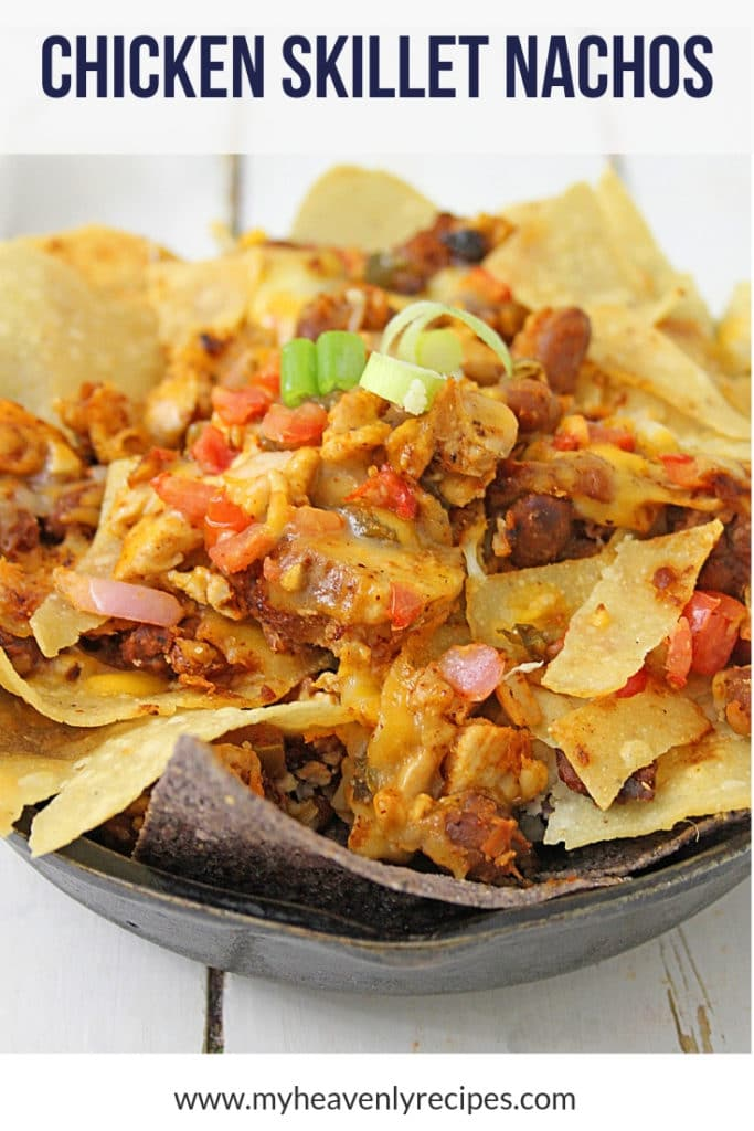 Skillet Chicken Simple Nachos Recipe