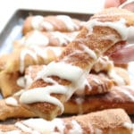 Copycat Pizza Hut Cinnamon Bread Sticks Recipe