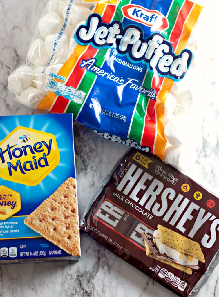 Oven Baked Smores ingredients