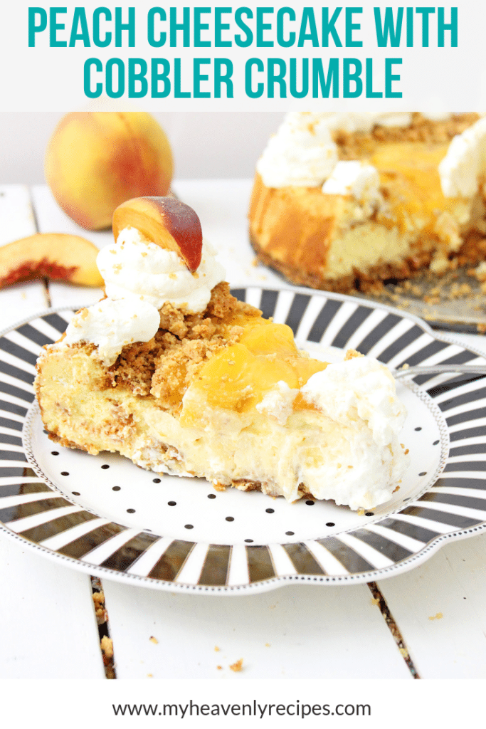 peach cheesecake pinterest