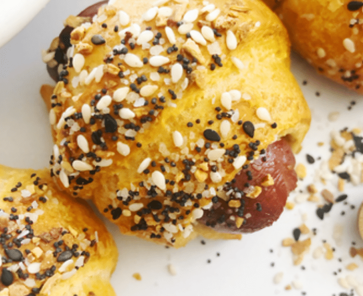 everything bagel dog recipe