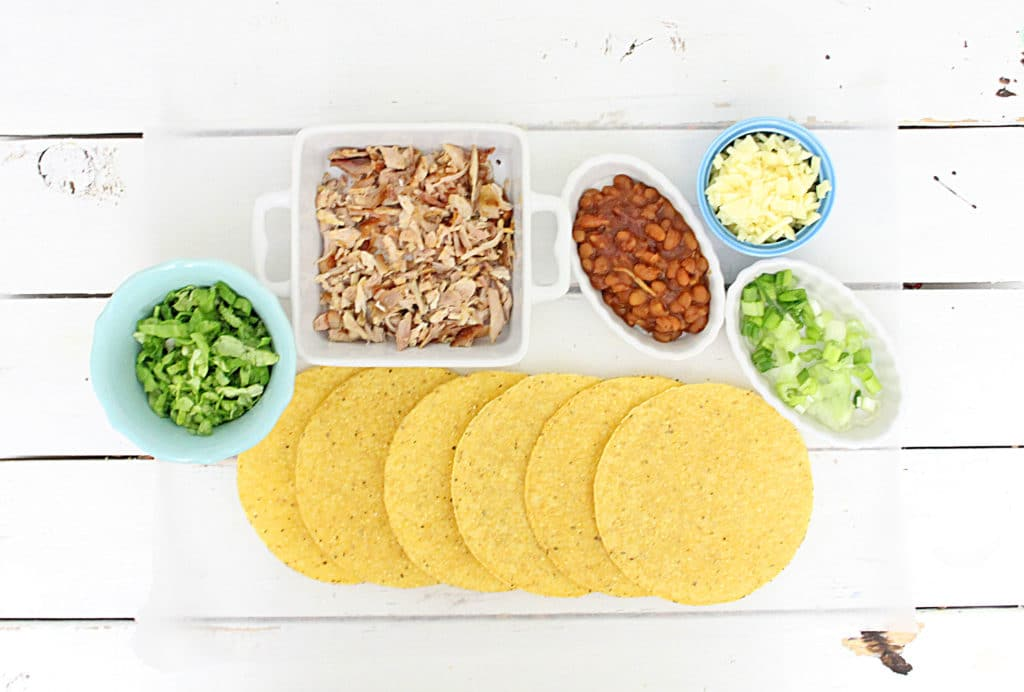 chicken tostadas ingredients
