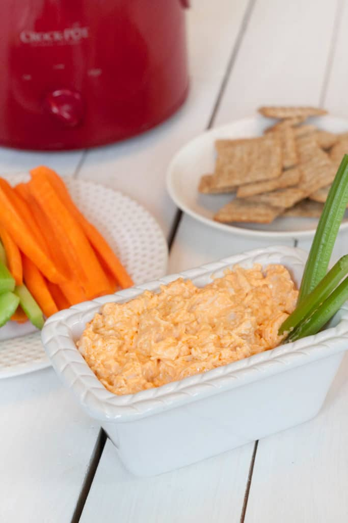 dip with celery and carrots