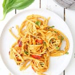 Roasted Red Pepper Pasta Instant Pot Recipe
