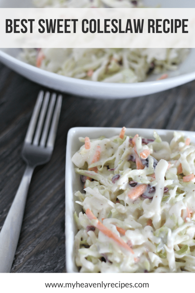 Best Sweet Coleslaw Recipe