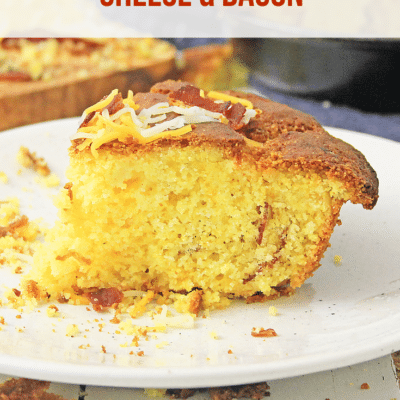 How to Make Cornbread with Cheese & Bacon