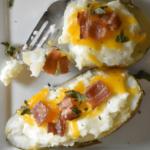 Instant Pot Twice Baked Potatoes Recipe