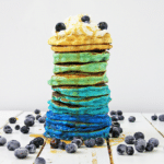Ombre Blueberry Pancake Recipe