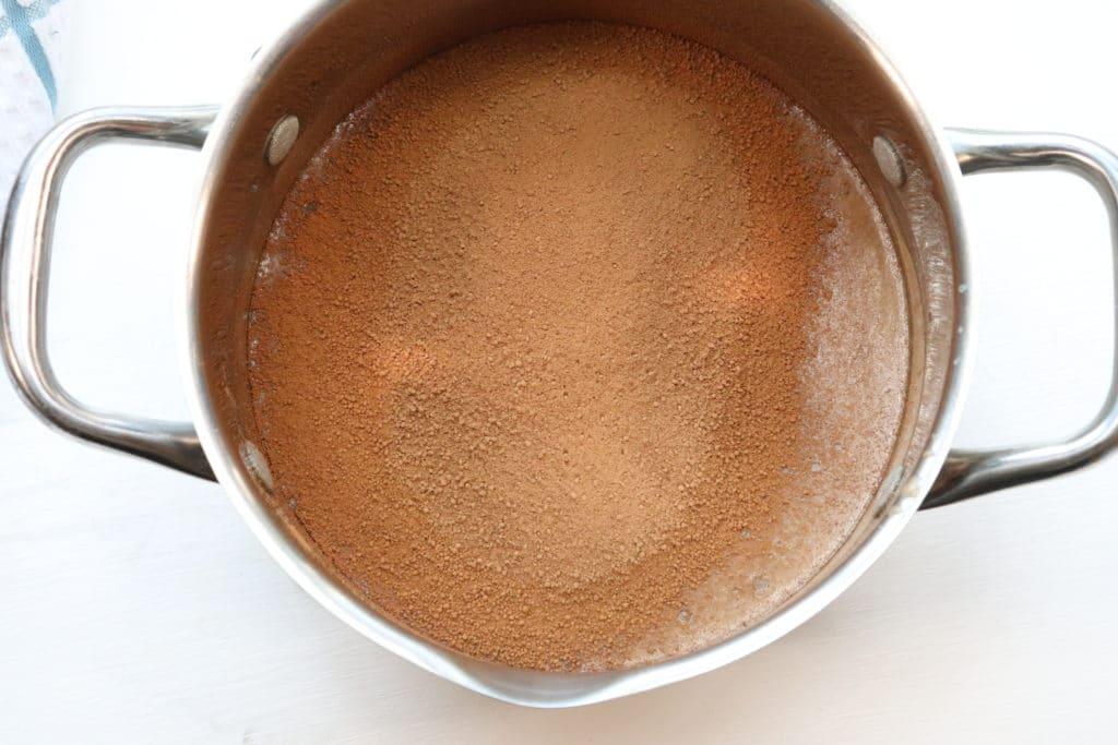cocoa for hot fudge