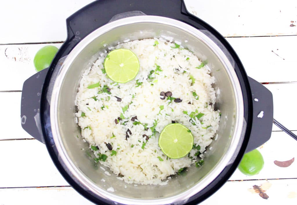 rice in instant pot
