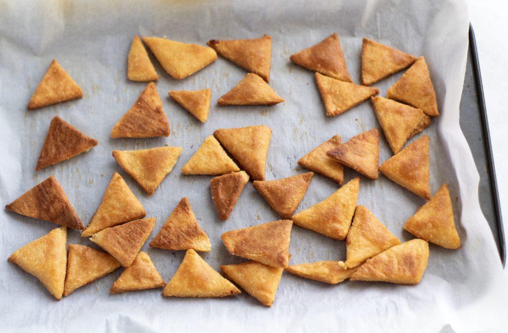 baked keto chips