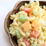 A Classic & Simple Macaroni Salad Recipe + Video