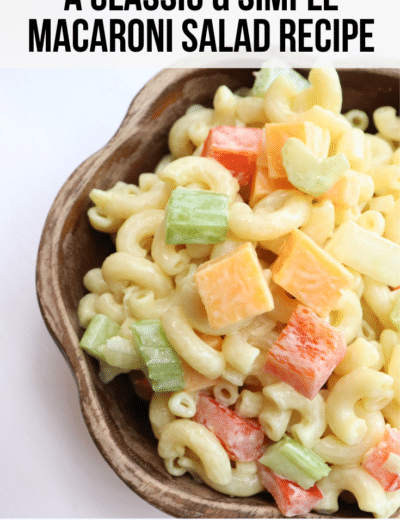 simple macaroni salad