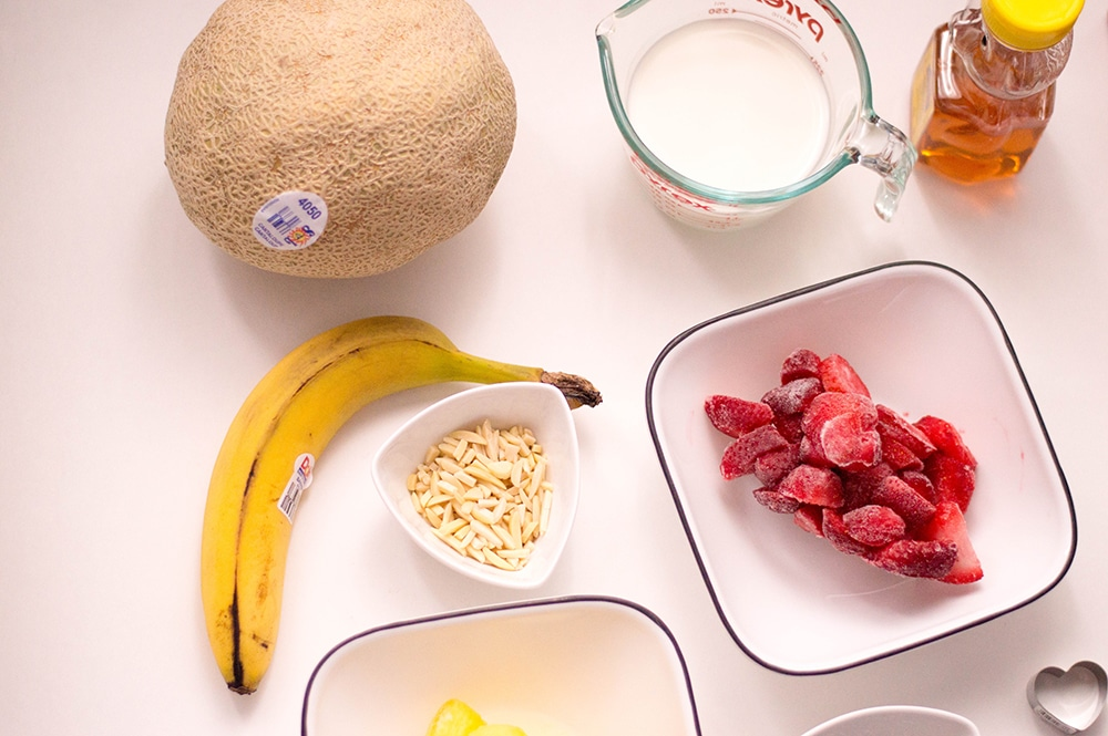 smoothie bowl ingredients