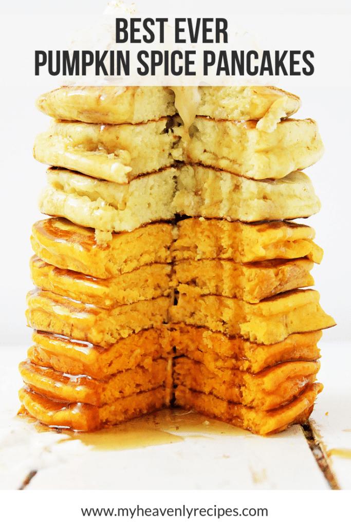 Best Ever Pumpkin Spice Pancakes