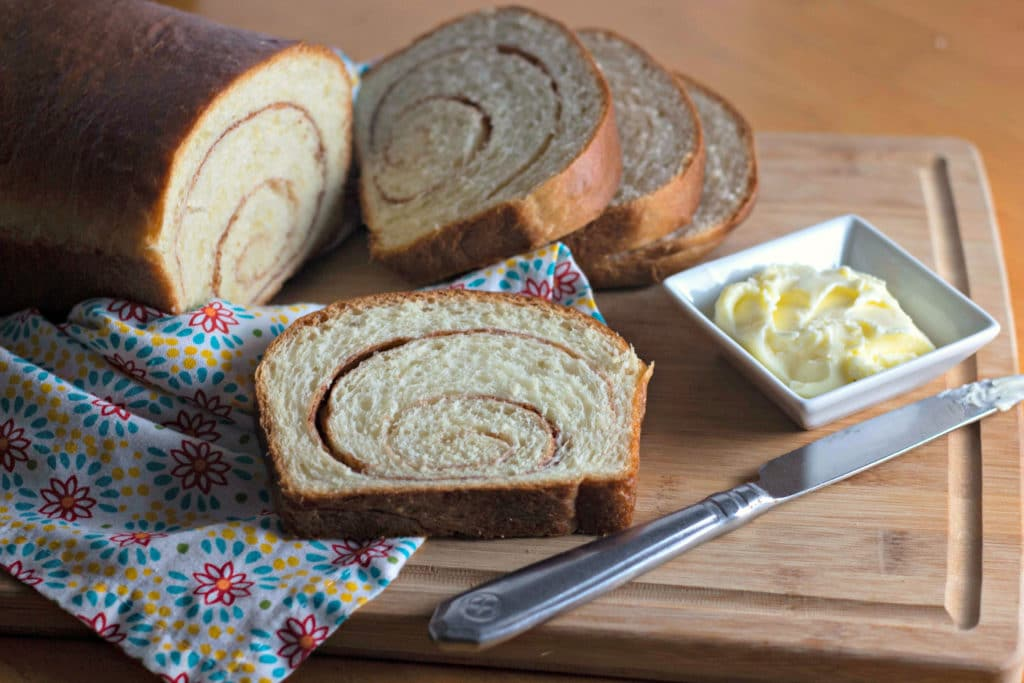Homemade Cinnamon Swirl Bread Recipe