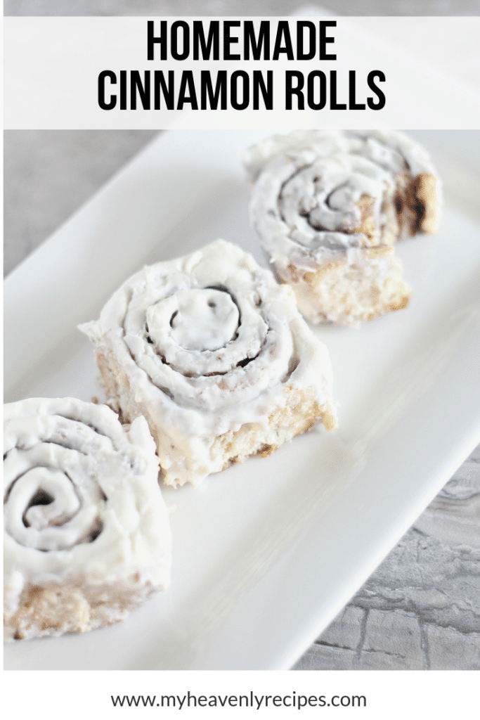 Homemade Yeast Cinnamon Rolls Recipe My Heavenly Recipes