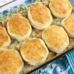 Chicken Pot Pie Biscuit Casserole