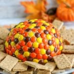 Reeses Pieces Peanut Butter Ball