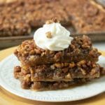 Sheet Pan Pecan Pie