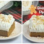 Gingerbread Poke Cake