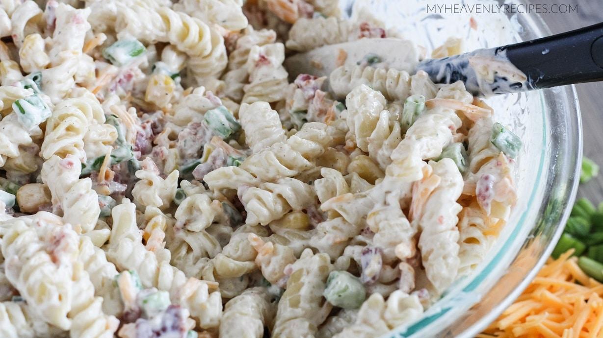 Pasta Salad Recipe Ranch