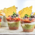 7 Layer Dip Party Cups
