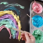 How to Make Edible Fingerpaints