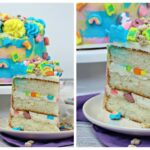 Lucky Charms Layered Cake