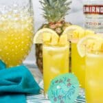 Boozy Pineapple Lemonade