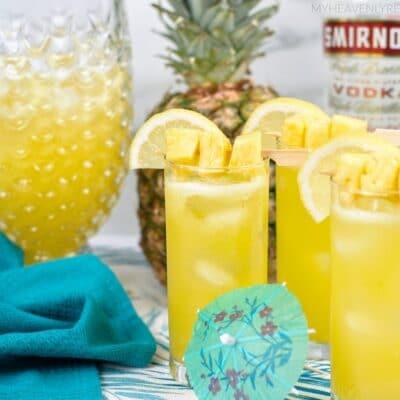 Boozy Pineapple Lemonade