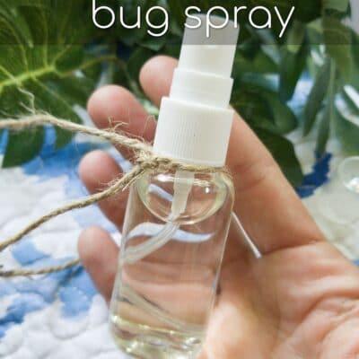How to Make Homemade Bug Spray