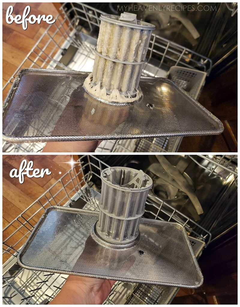 How To Deep Clean Your Dishwasher My Heavenly Recipes
