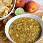 How to Make Homemade Peach Salsa
