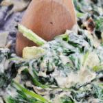 Healthy Creamed Spinach Recipe