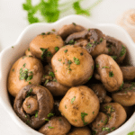Sauteed Mushrooms with Garlic